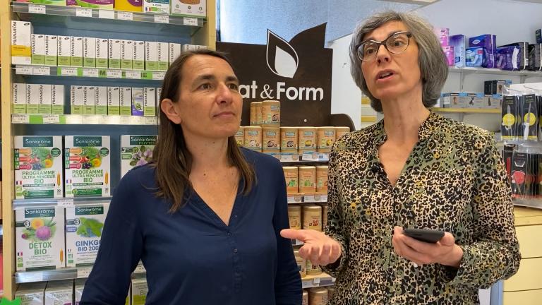 Sophie et Cécile de la Pharmacie Roncevaux