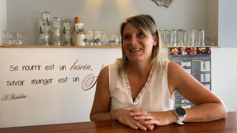 Laetitia, du restaurant L'Amistat à Mourenx